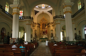 Inside the oldest church in PV