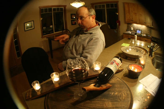 Rick, trying to improve my still shot of candles and wine glass