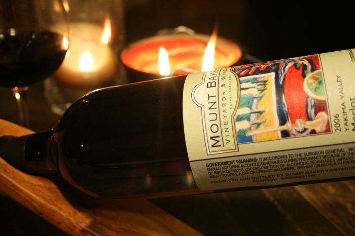 Merlot from Mt. Baker Vineyard